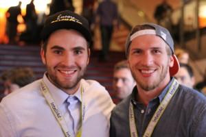 Hamburger Entrepreneure, die noch viel vor haben: Mo Finke (l.) und Steven Smith