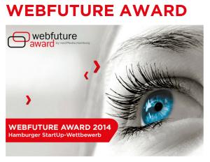 Der Webfuture Award findet bald statt.