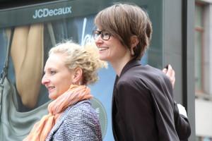Die beliya Gründerinnen Andrea Noelle (l.) und Andrea Busse