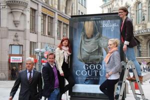 Die Werbeagentur neues aus Hamburg hat die GOOD COUTURE Kampagen begleitet.