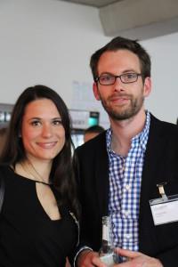 Jury-Mitglied Sanja Stankovic und WunderCar Gründer Gunnar Froh