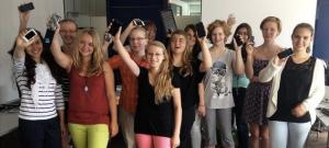 Die Mädchen von der Summer-App-School