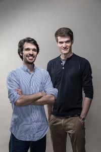 Die Protonet Gründer Ali (r.) Jelveh und Christopher Blum