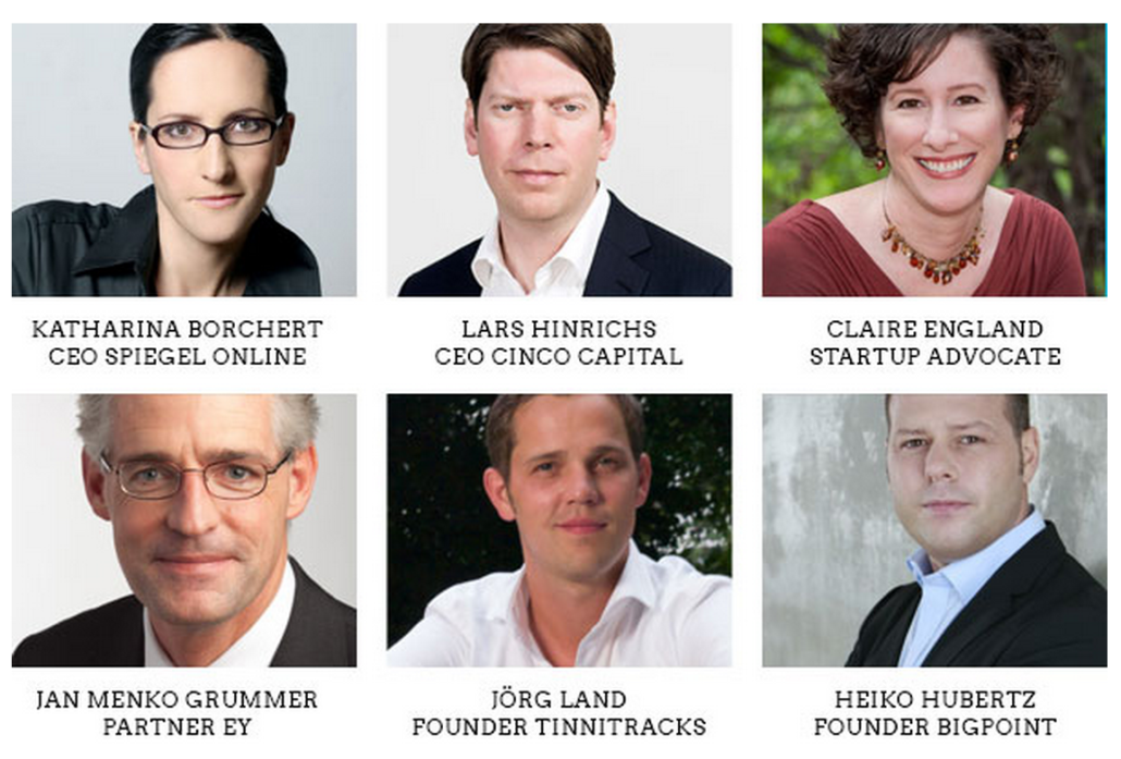 Die Startups@Reeperbahn Jury 2014