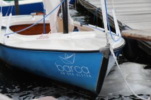 Das barca an der Alster