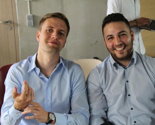Das Mobytick-Team aus Hamburg nach dem Mentoring