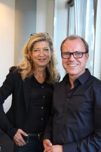 Sandra Fisher von iVenture Capital und Dirk Freise von Shortcut Ventures