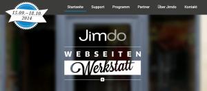 Jimdo Webseiten Werkstatt