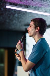 Startup-Power aus Portugal: Diogo gibt alles für seine smarte Pillenbox PharmAssistant Bild: Stefan Groenveld