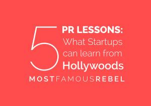 5 PR Lessons