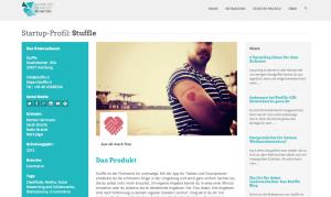 Das Startup Profil im Monitor