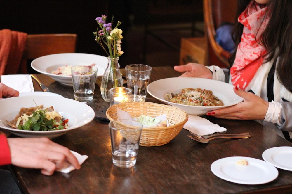 Das Mooi bietet auch hervorragende vegetarische Gerichte