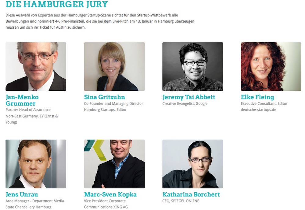 Die Jury des Pre-Pitches am 13. Januar: