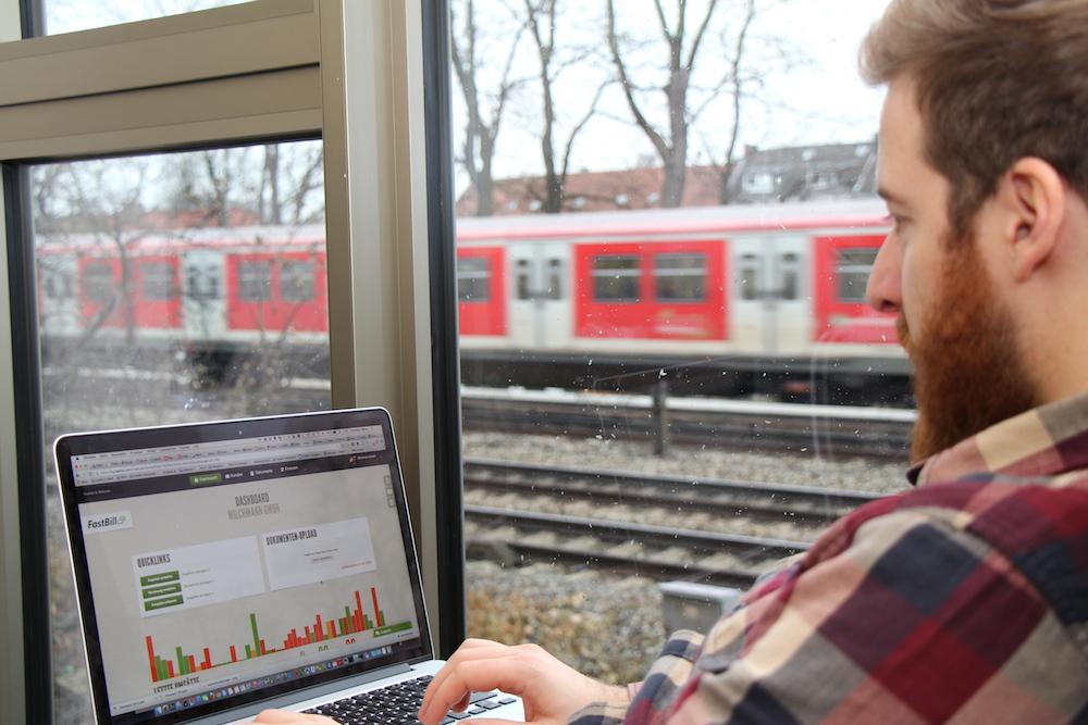 Blick ins System mit Ausblick auf die Schienen