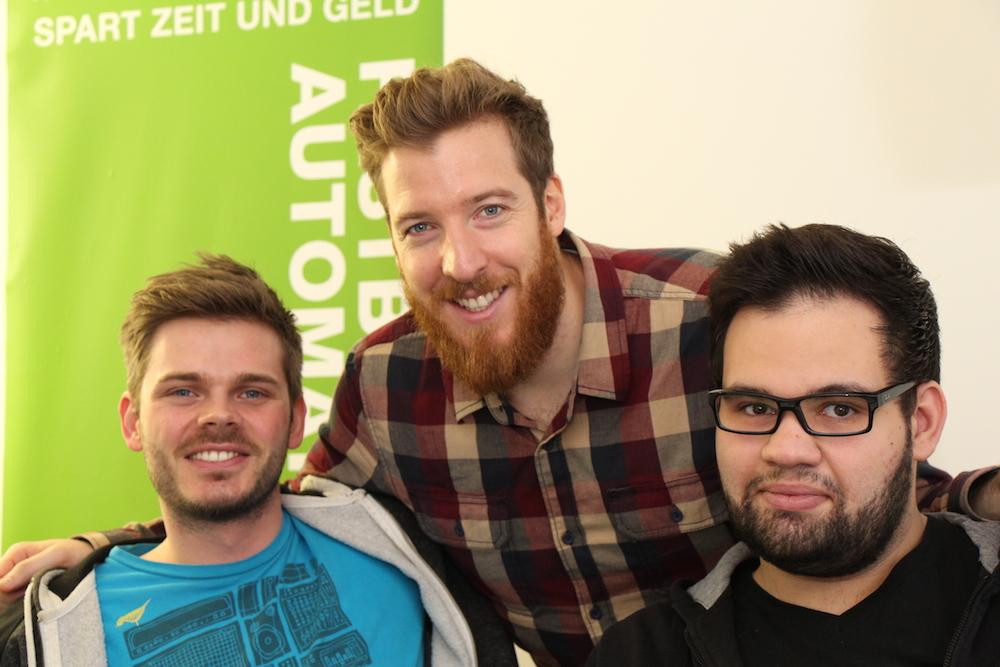 Das Hamburger Team teilt sich das gemütliche Büro im betahaus in der Schanze
