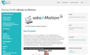 ebooks in Motion im Monitor