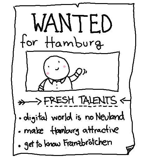 Fresh talents wanted