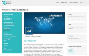 Kreditech im Hamburg Startup Monitor