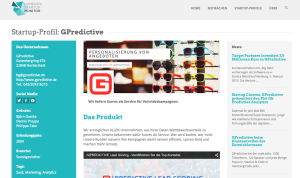 Gpredictive im Monitor