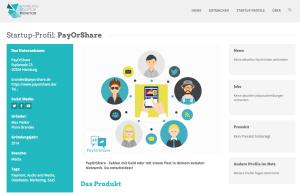 PayOrShare im Monitor