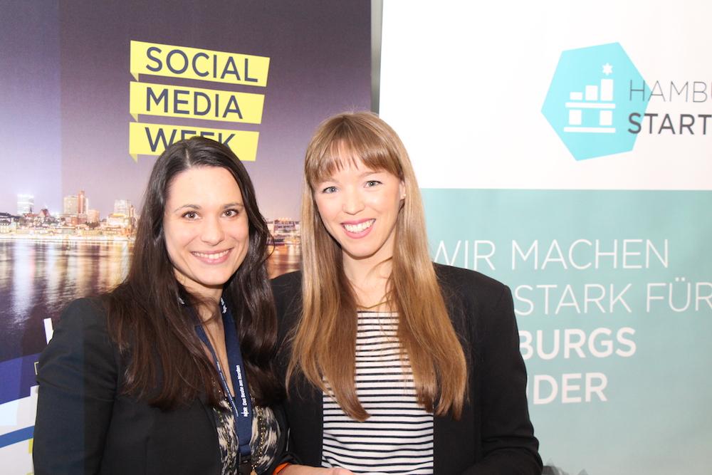 Sanja Stankovic (l.) gemeinsam mit Elsita Meyer-Brandt von eventbrite