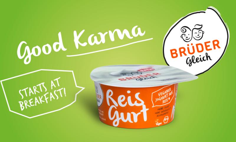 Innovation zum Essen. Reisgurt von den Brüdern Gleich