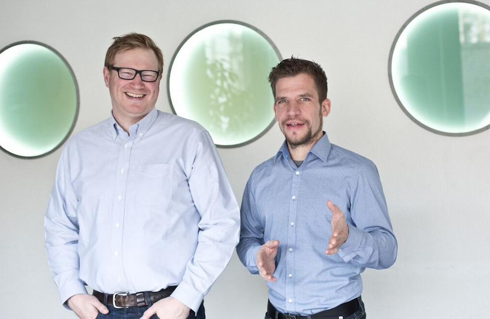 COO Nico Lumma und CEO Dirk Herzbach