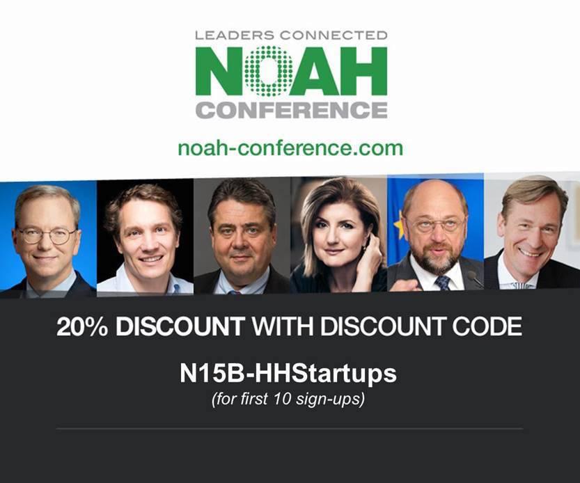 Die NOAH Konferenz wartet mit einer Vielzahl an spannenden Gästen auf