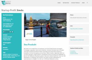 Webseiten Baukasten-System jimdo