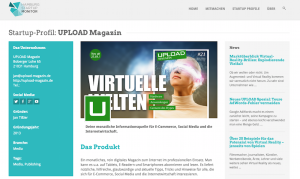 Das UPLOAD Magazin im Monitor