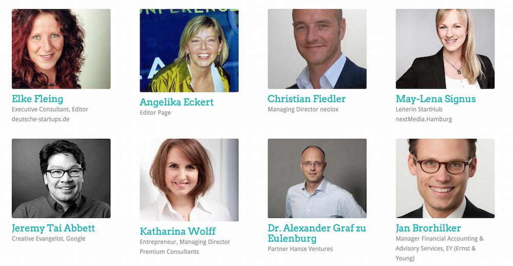 Über 25 Persönlichkeiten aus dem Hamburger Startup Ökosystem warten auf Eure Pitchdecks! Sie wählen Ende August gemeinsam die fünf Finalisten aus.
