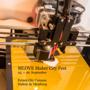 MLOVE Maker City Fest Logo