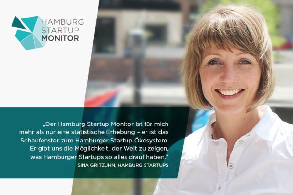 Mitmachen heißt Hamburg sichtbarer machen! Sina Gritzuhn, Gründerin und Managing Director von Hamburg Startups