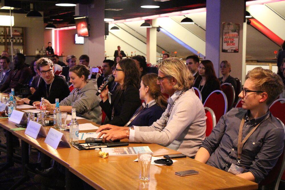 Die Jury für das Finale vom UniPitch