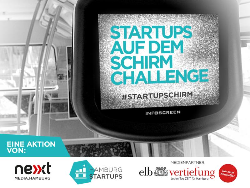 Startups auf dem Schirm - die Challenge