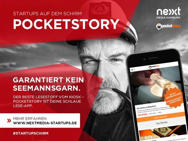 Den Anfang macht ab heute für eine Woche das Startup Pocketstory