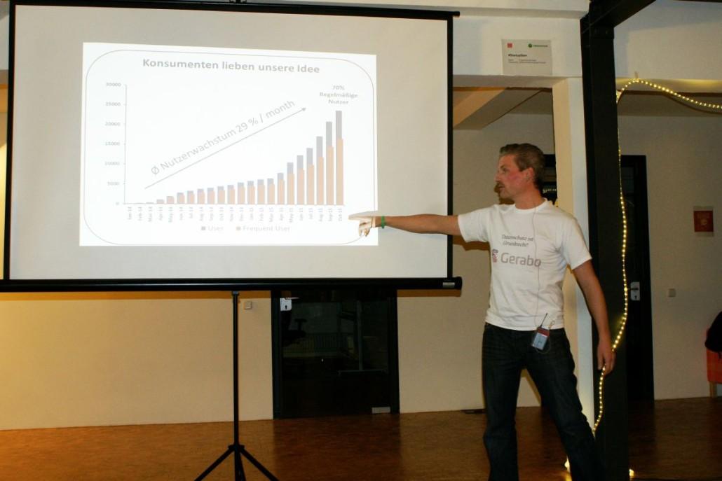 Daniel Sonet zeigt, wo es bei Gerabo lang geht