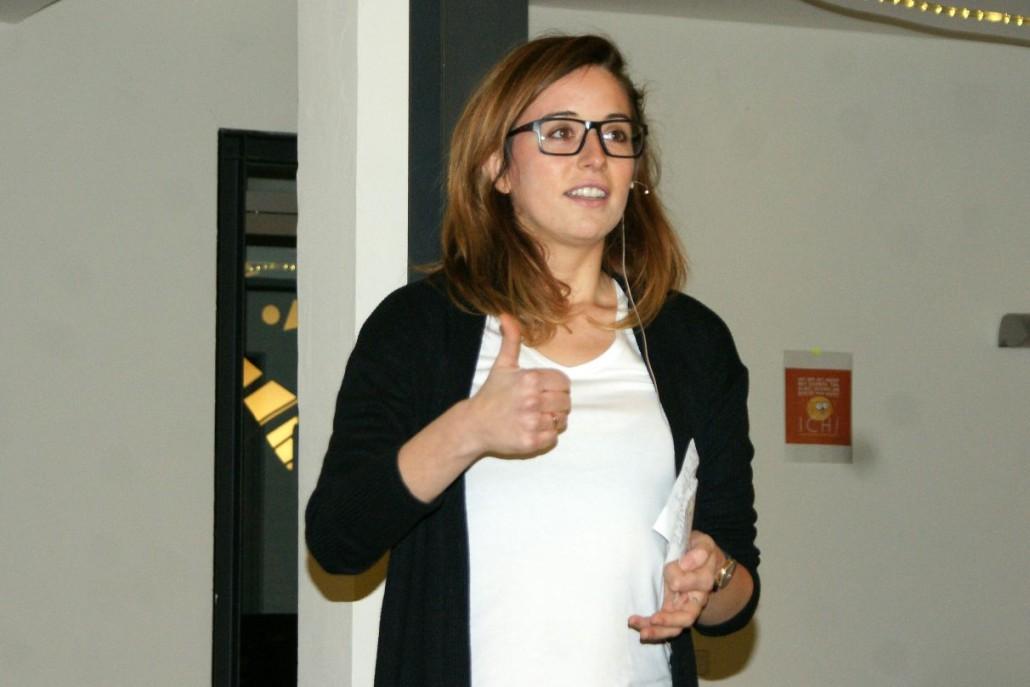 Sabela García Cuesta: Daumen hoch für ihr Gute Leute Magazin