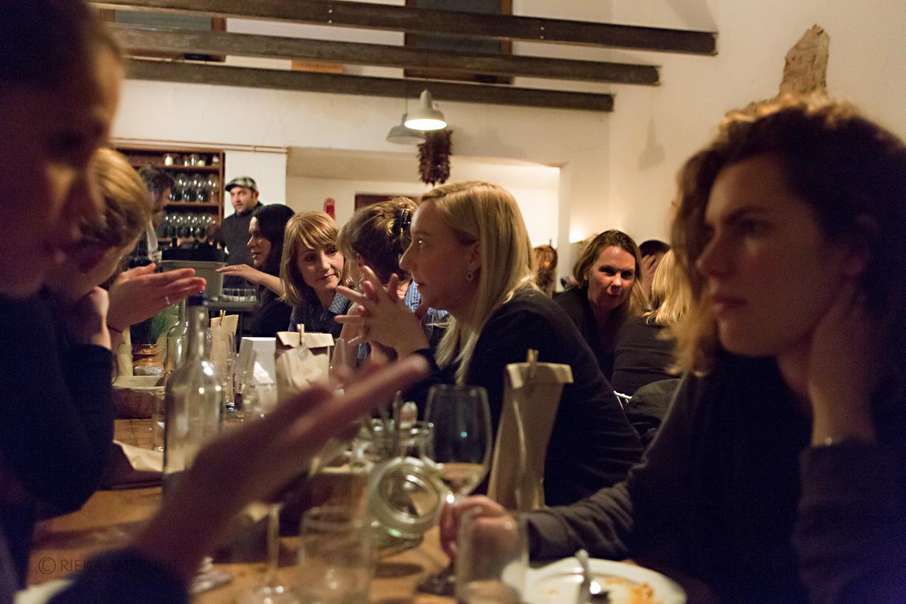 Beim Ladies Dinner gab es viel zu erzählen.