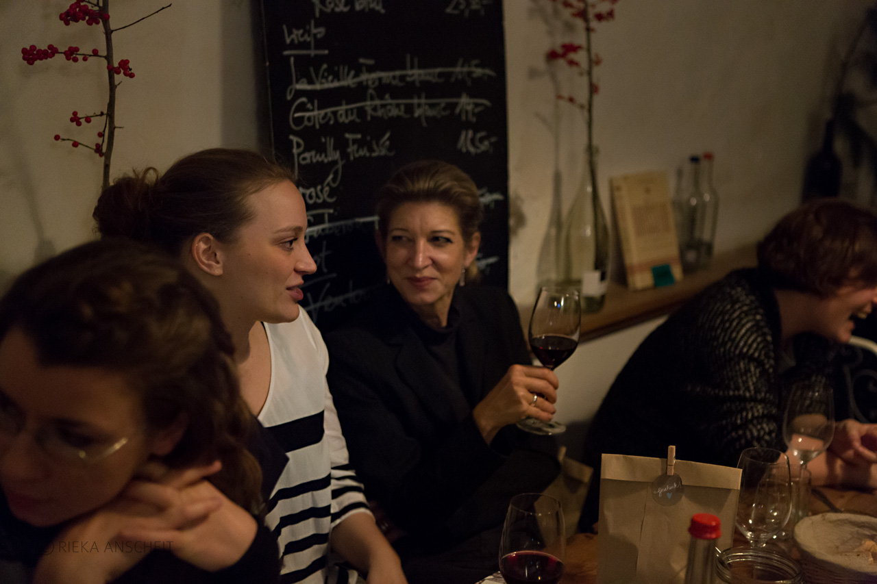 Marie-Lene Armingeon, Heide Peuckert, Sandra Fisher und Jenni Schwanenberg