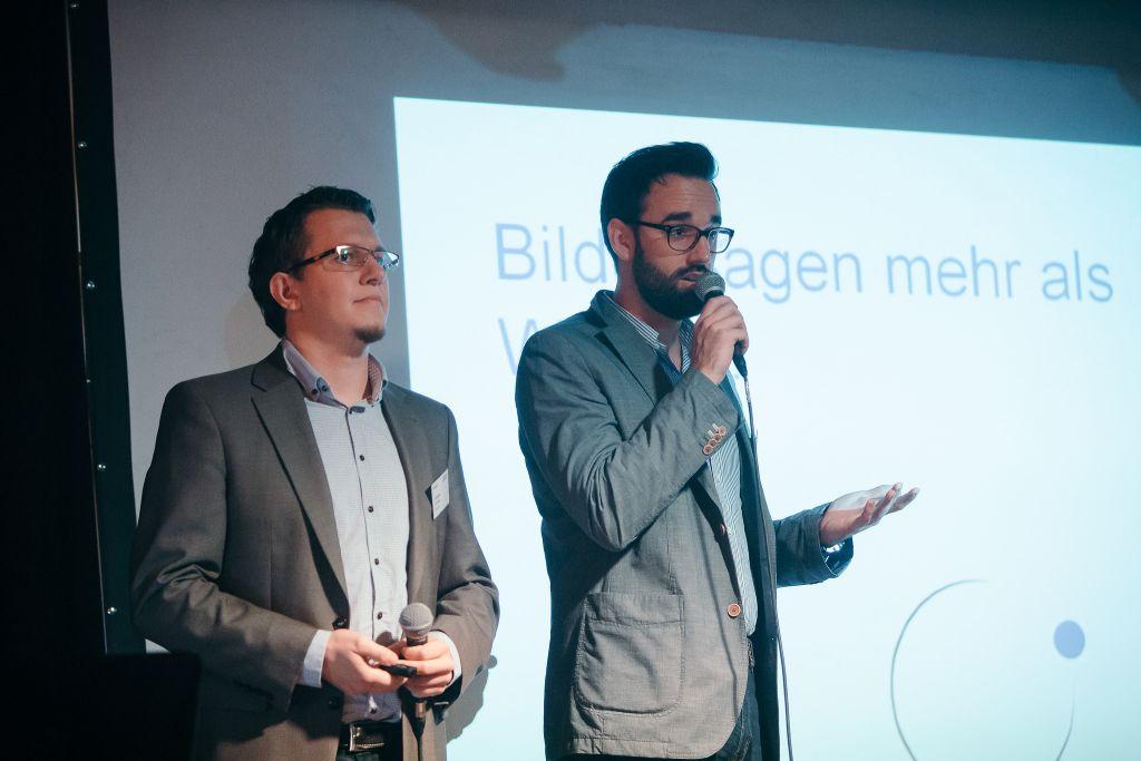 Wolfgang Schömig und Mario Pfister von Conduct-it