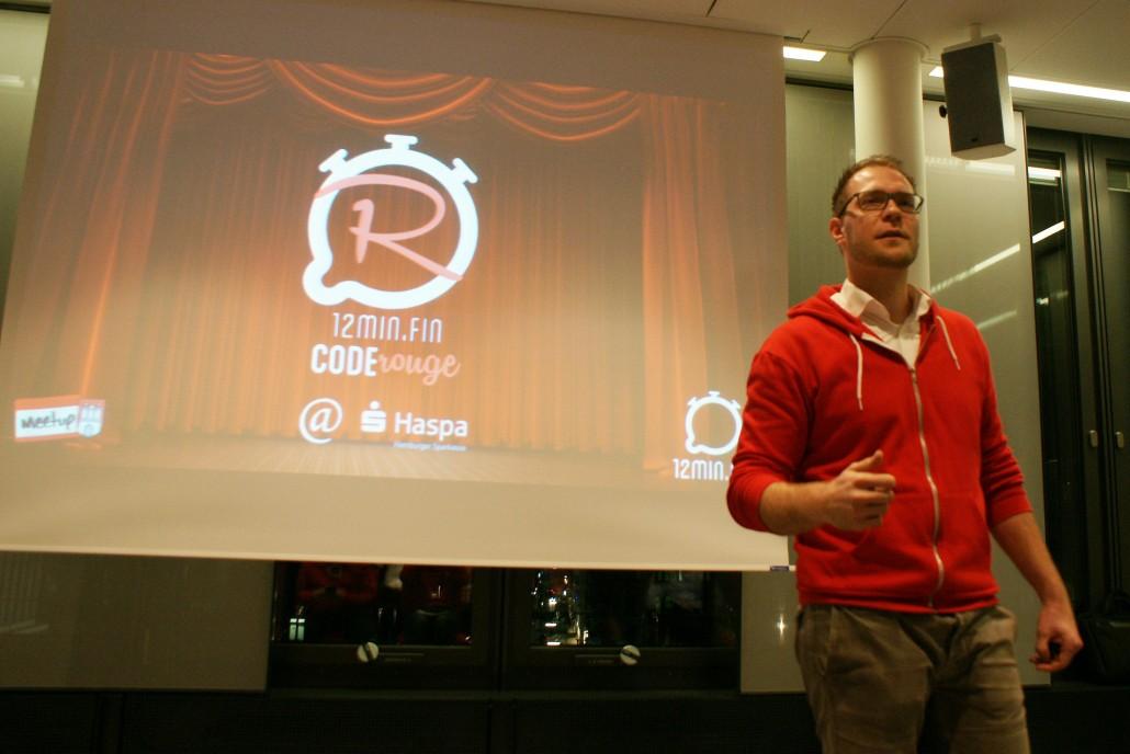 Oliver Rößling vom 12min.me-Team erklärt Code Rouge