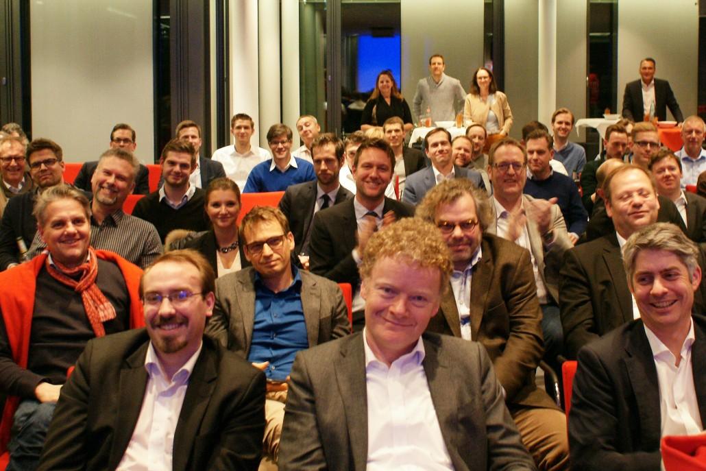 Sichtlich zufrieden: das Publikum der Code Rouge-Premiere