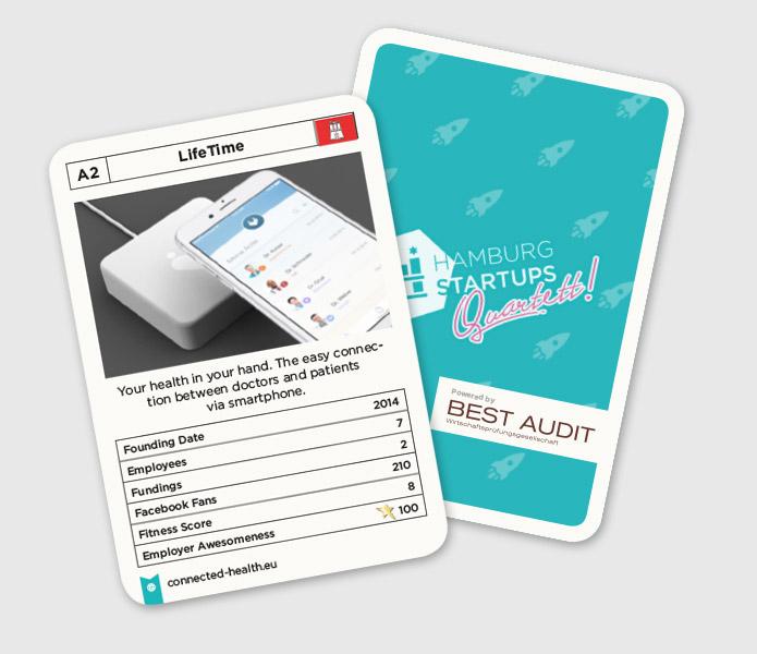Spiel mit: 28 Startups aus Hamburg helfen dir zu gewinnen.
