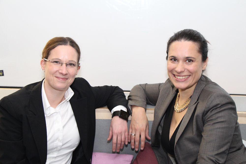 Nina Diercks und Sanja Stankovic