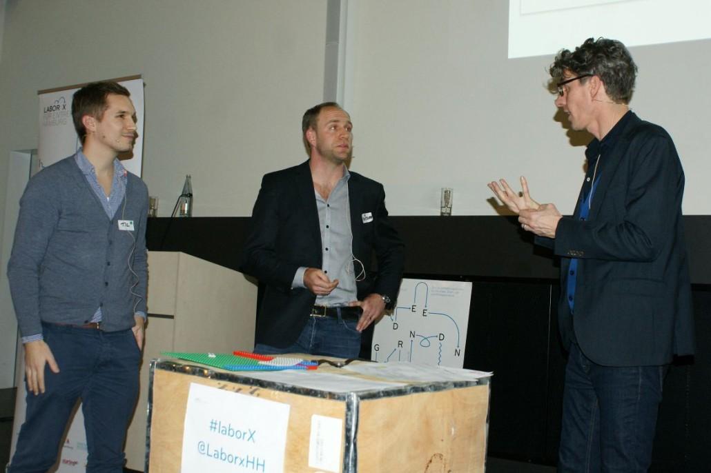 Til Rochow und Christoph Lange von Craftspace im Gespräch mit Jan Evers von evers & jung