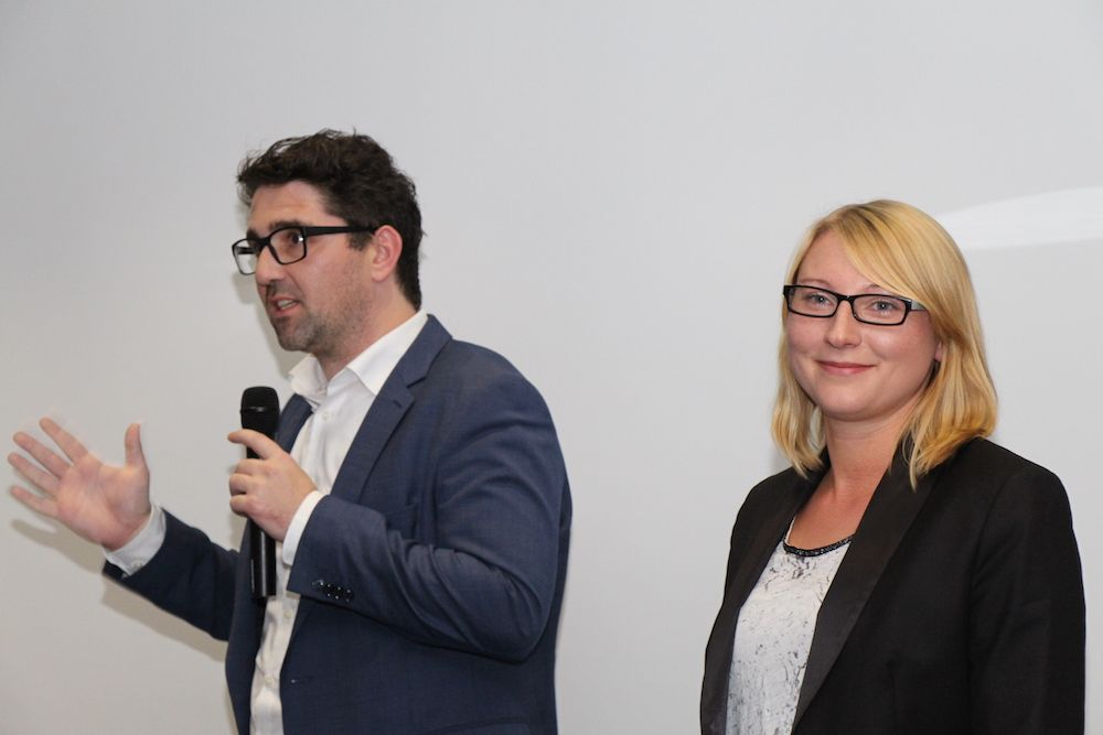 Kevin Neugebauer und Daniela Naumann von myprintoo