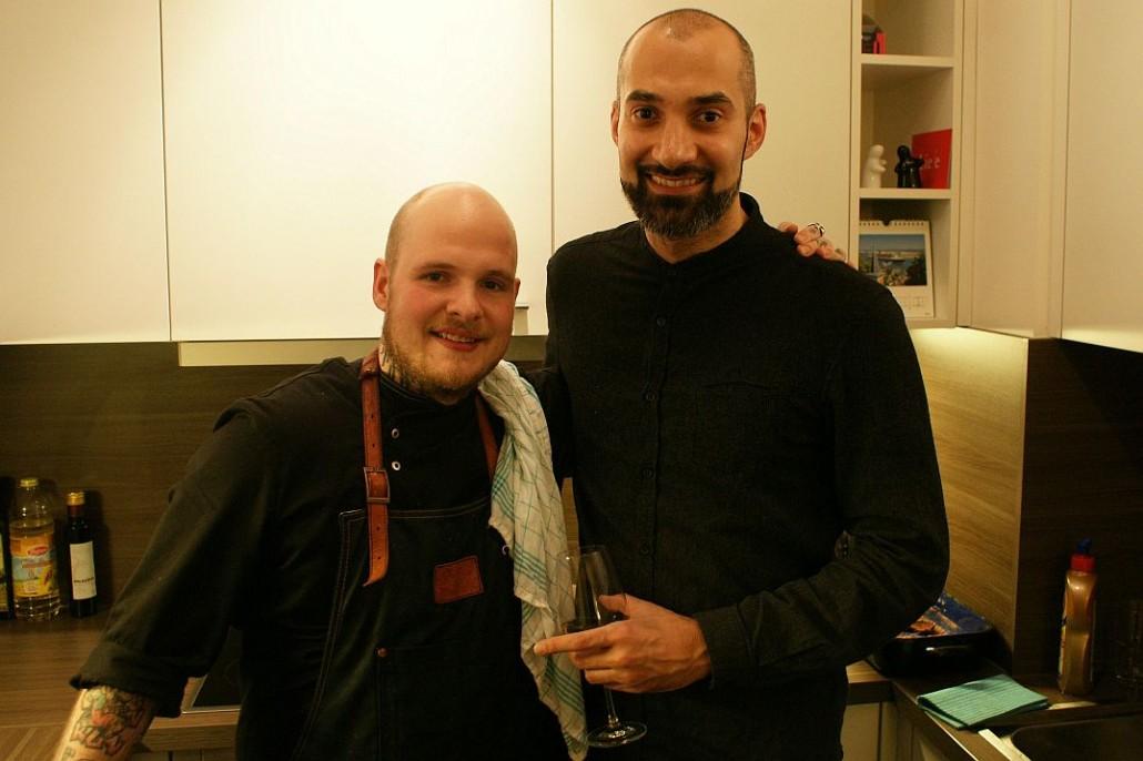 Koch Marc Wieberneit und GründerErdal Alim