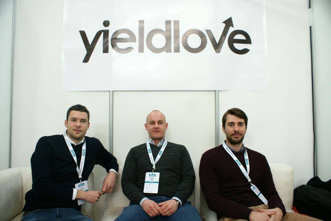 Timo Hagenow, Phillip Höger und Benjamin Gries von yieldlove