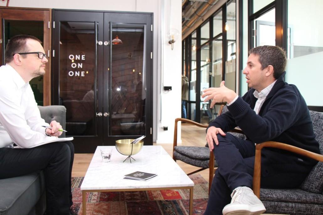 Dan Zakai (rechts), Geschäftsführer und Mitgründer von MINDSPACE, erklärt uns im Interview sein Konzept.
